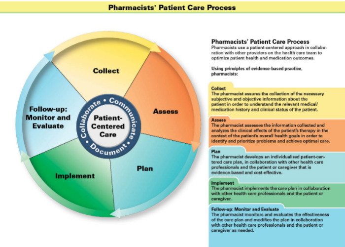 Pharmacists' Patient Care Process