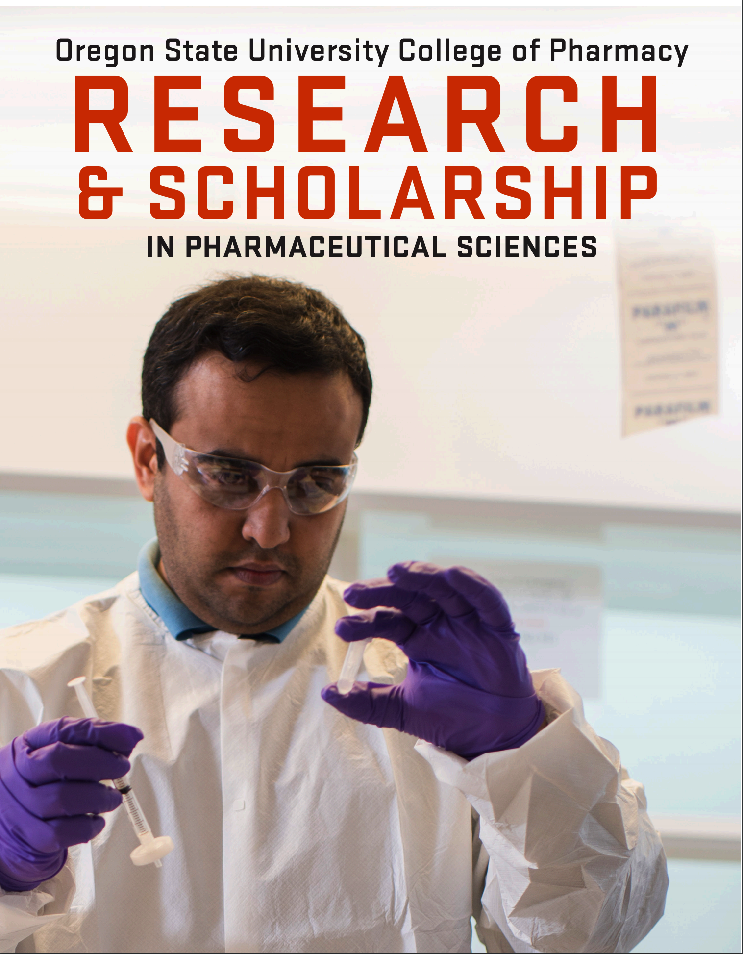 Research Brochure Cover page
