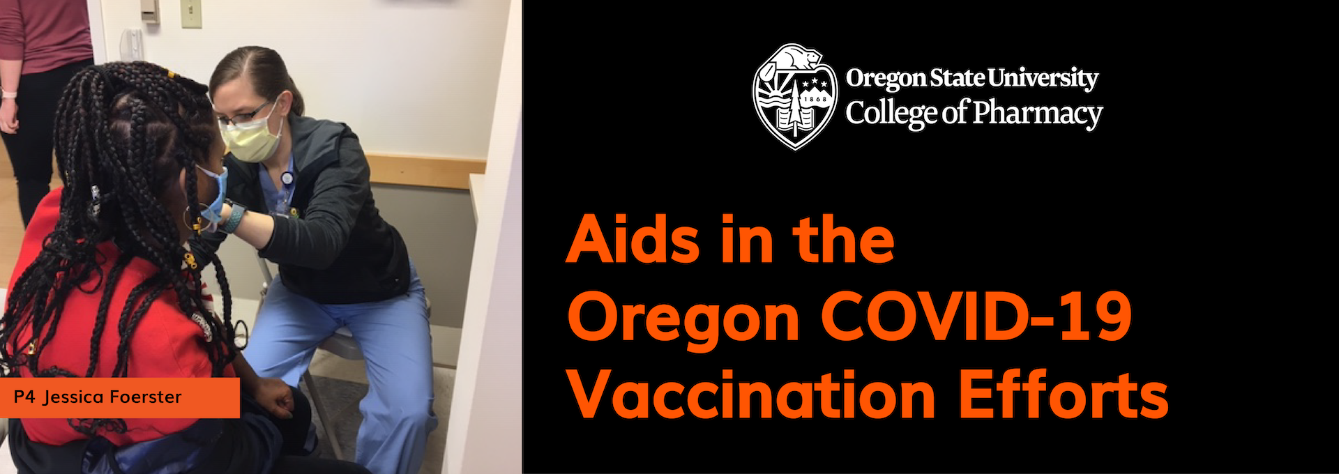 Faculty Member Aides in Building the COVID-19 Vaccine Distribution Model for Oregon Pharmacies